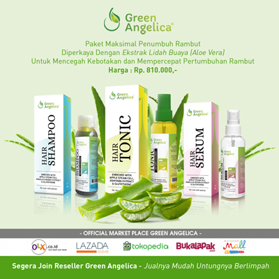 vitamin untuk menumbuhkan rambut, green angelica